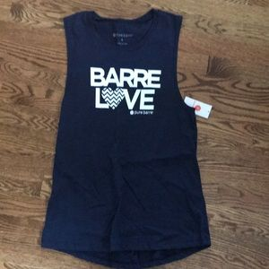 Pure Barre navy tank new with tags